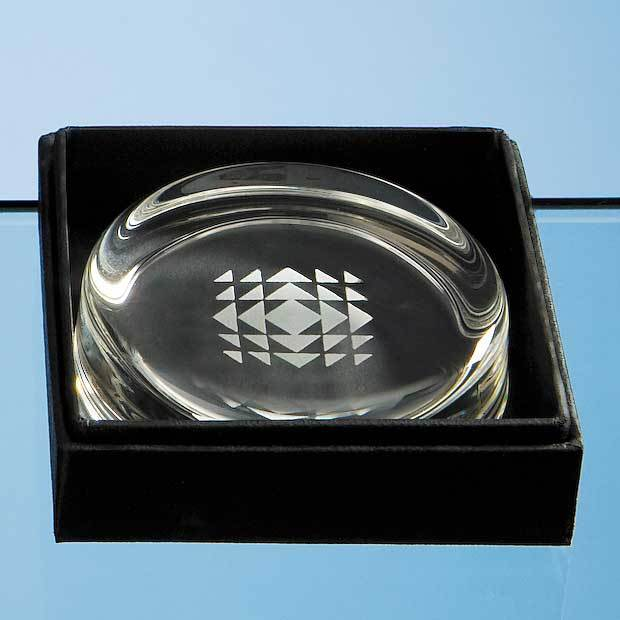 Small Paperweight Leatherette Box (BOX ONLY)