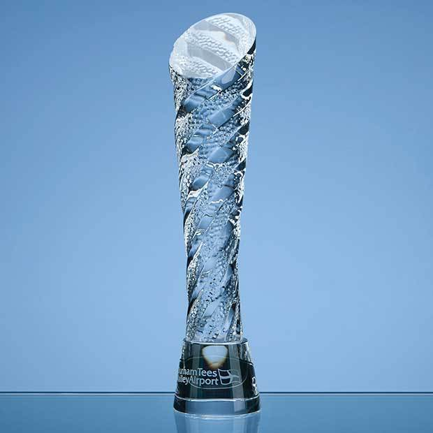 25cm Optical Crystal Hubble Award