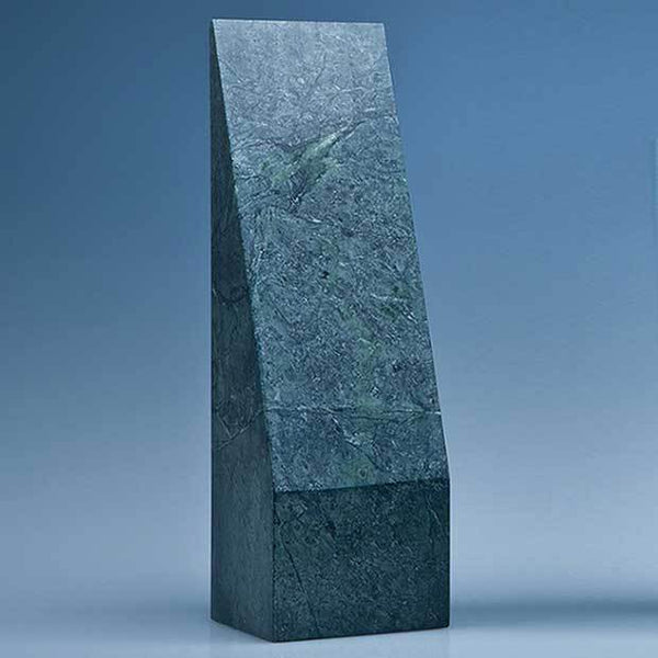 SY3071P -   25cm Green Marble Slope Award* - (Fully Engraved)