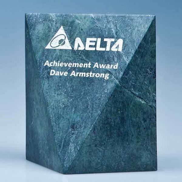 SY3072P -   15cm Green Marble Glacier Award* - (Fully Engraved)