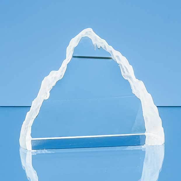 10.5cm Optical Crystal Matterhorn Award
