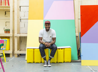 Yinka Ilori on youth, trainers and tribes