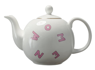 Suffragette City Tea Pot