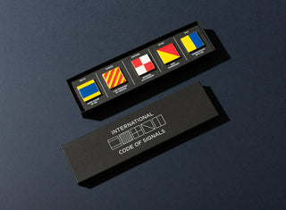 Set of ICS Pin Badges