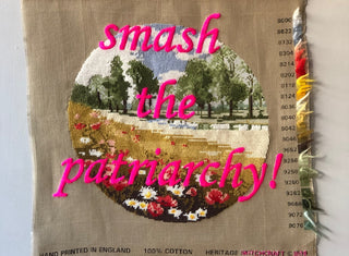 Smash the Patriarchy - Plinth