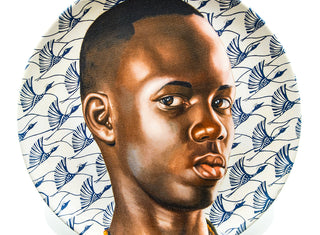 Kehinde Wiley Plate Set