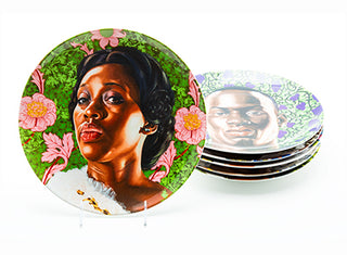 Kehinde Wiley Plate Set - Plinth