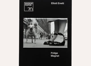 Elliott Erwitt Dog Magnet - Plinth