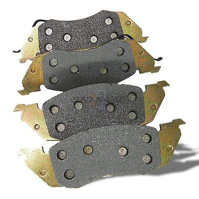 Silverline MD529 UBP Semi-Metallic Premium Disc Brake Pads - Front