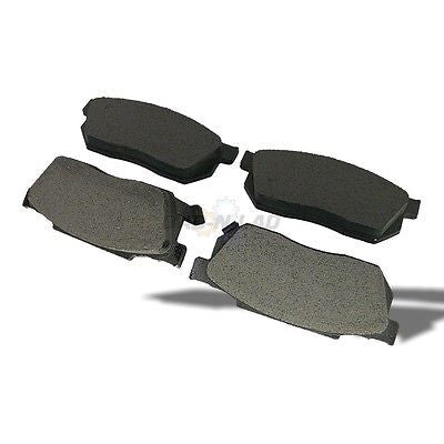 Silverline MD256 UBP Semi-Metallic Premium Disc Brake Pads - Front