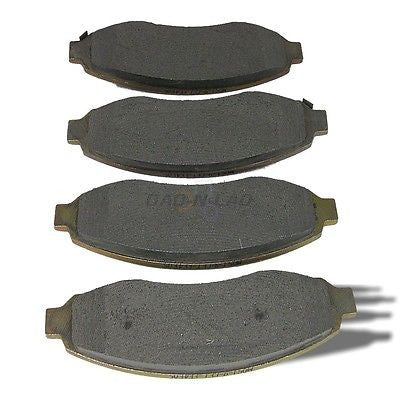 AutoSpecialty Plus 24-962-02 Semi-Metallic Disc Brake Pads