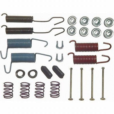 Wagner F78552 H7040 Drum Brake Hardware Repair Kit - Made in U.S.A. - Front