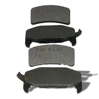 Auto Specialty 24-377-02 Metal-Lux Semi-Metallic Premium Disc Brake Pads - REAR