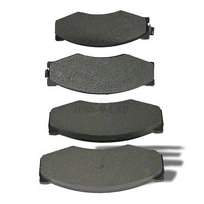 AutoSpecialty 24-266-02 Plus Series Semi-Metallic Disc Brake Pads - Front