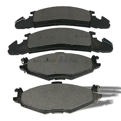 AutoSpecialty 24-259-02 Plus Series Semi-Metallic Disc Brake Pads - Front