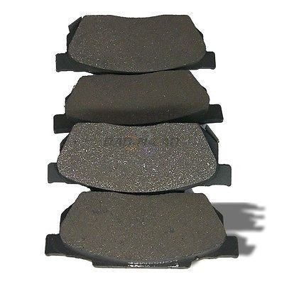AutoSpecialty 24-256-01 Metal-Lux Semi-Metallic Premium Disc Brake Pads -Front