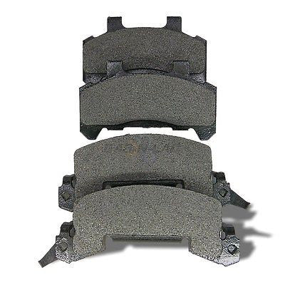 AutoSpecialty 24-289-02 Plus Series Semi-Metallic Disc Brake Pads - Front