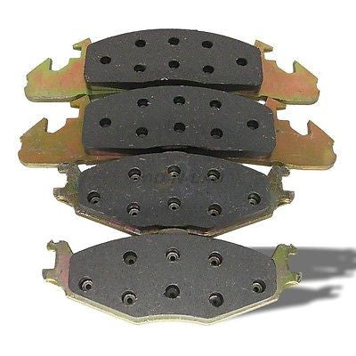 World Brake MKD259  Semi-Metallic Premium Disc Brake Pads - Front