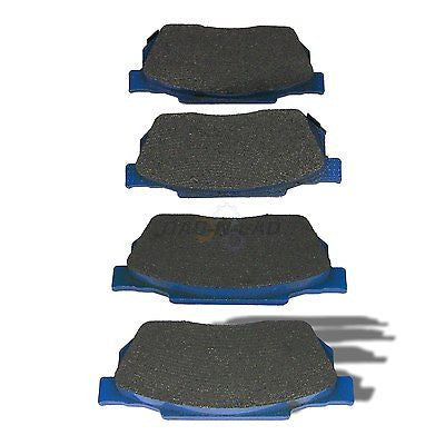 Ultimate Brake Pad UBP MXD256 Semi-Metallic Shimmed Disc Brake Pads - Front