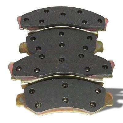 World Brake MKD360 Premium Semi-Metallic Disc Brake Pads - Front