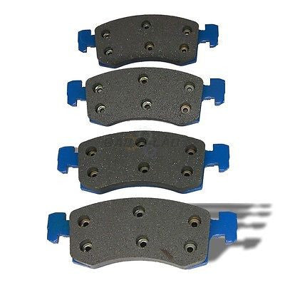 AutoSpecialty 24-220-04 Plus Series Front Semi-Metallic Shimmed Disc Brake Pads