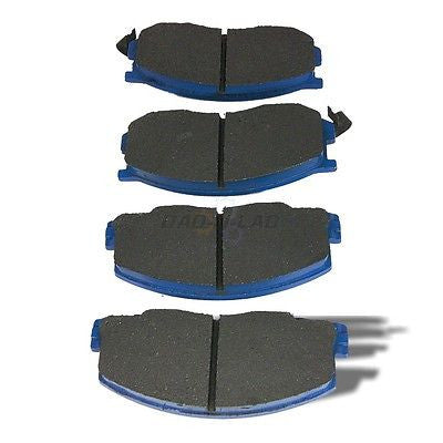 AutoSpecialty 24-263-02 Plus Series Semi-Metallic Disc Brake Pads - Front
