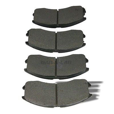 AutoSpecialty 24-399-02 Plus Series Semi-Metallic Disc Brake Pads - Front