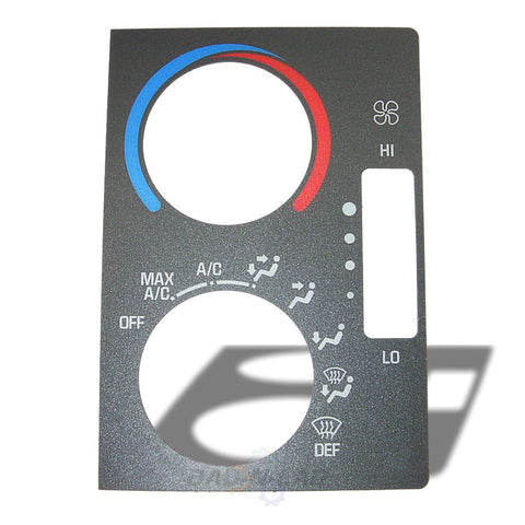 ACDelco 16205774 GM OEM HVAC Controls Faceplate Cover