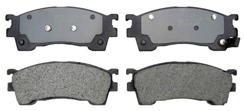 ACDelco 17D637 18029170 Professional DuraStop Organic Disc Brake Pads - Front