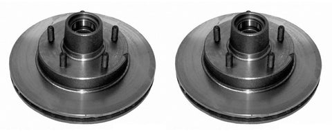 ACDelco 18A405 18028005 DuraStop Rotor and Hub Assembly (Pack of 2)