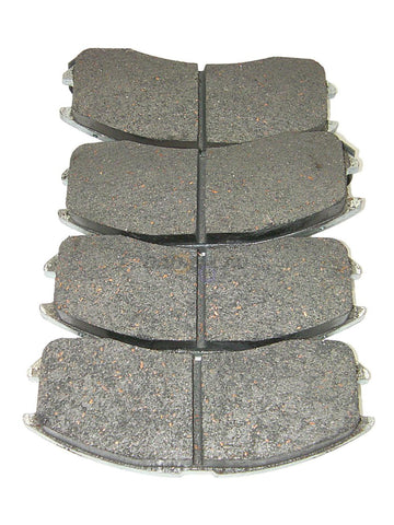 AutoSpecialty 14-399-12 Front Ultimate Pro Semi-Metallic Disc Brake Pads
