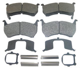AutoSpecialty 24-317-02 MDS317 Super Kit Semi-Metallic Disc Brake Pads