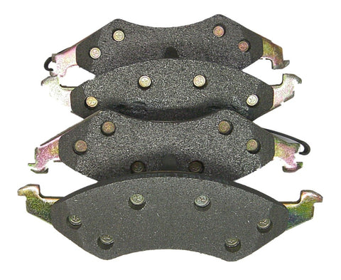 AutoSpecialty 24-421-04 Metal-Lux Semi-Metallic Disc Brake Pads