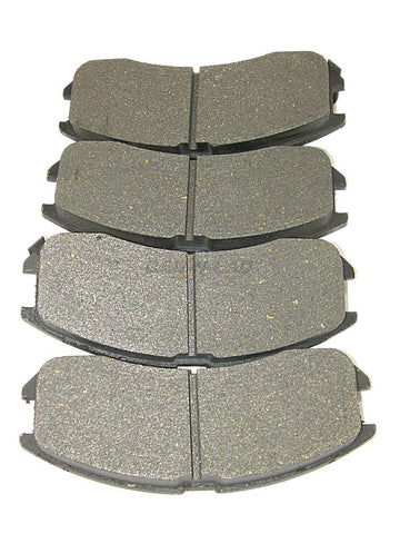 AutoSpecialty 25-399-01 Front Super-Lux Semi-Metallic Disk Brake Pads