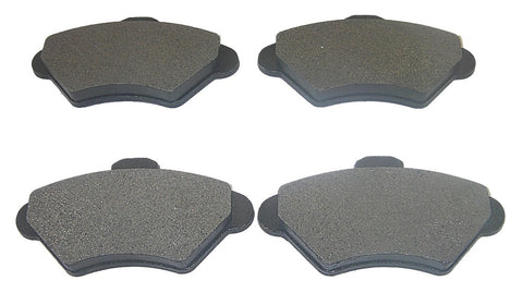AutoSpecialty 26-600-01 Extreme Performance Semi-Metallic Brake Pads