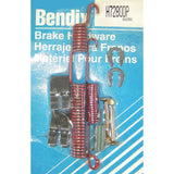 Bendix H7280DP Drum Brake Hardware Kit for 1981-1985 Mazda RX-7 - Made in USA