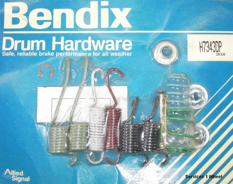 Bendix H7343DP Drum Brake Hardware Kit