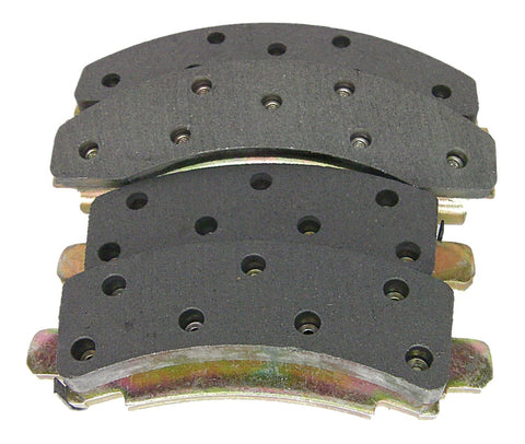 Callahan MDSR-149 Front Semi-Metallic Disc Brake Pads