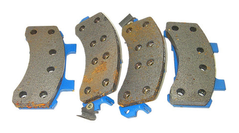 FrictionMaster MX190 Professional UltraLife Semi-Metallic Disc Brake Pads Front