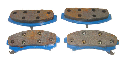 FrictionMaster MX353 Professional UltraLife Semi-Metallic Disc Brake Pads Front