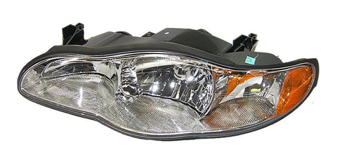 GM 10321017 Headlight/Headlamp Assembly - 2000-2005 Chevrolet Monte Carlo - Left