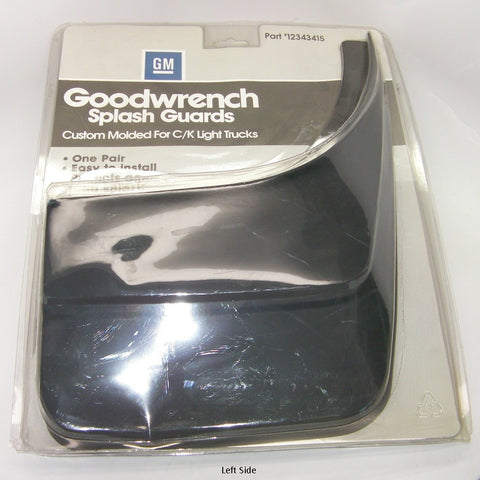 GM 12343415 Goodwrench Splash Guards 1988-2000 Chev/GMC C/K Light Trucks 1 Pair