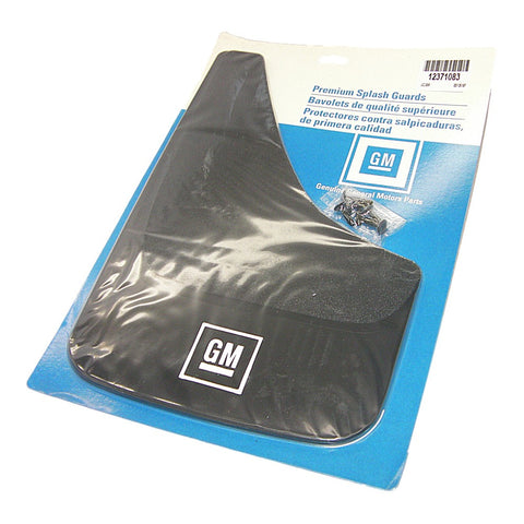 GM 12371083 Genuine GM Parts GM Logo Splash Guards - Rear