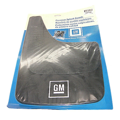 GM 12371085 Premium Truck Splash Guards - 1 Pair - Front or Rear