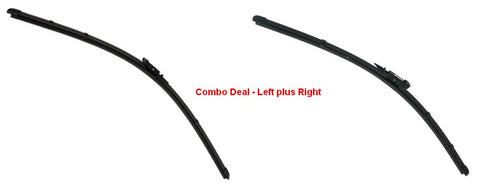 Genuine GM 20988799+20988800 Wiper Blade Left and Right for 2006-2011 Lucerne