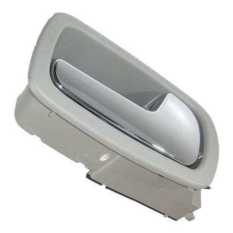 Genuine GM 22722746 Front Right Interior Door Handle - Gray w/ Chrome Lever
