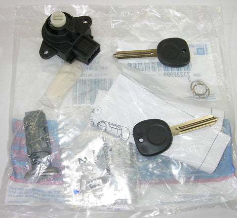 Genuine GM 23237274 OEM Ignition Lock Cylinder Kit w/ Key