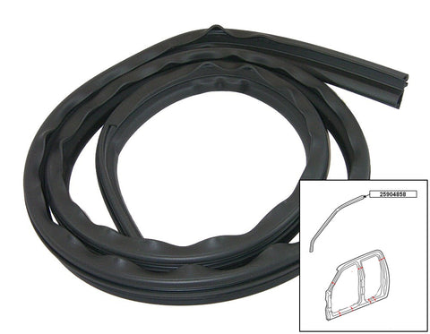 Genuine GM 25904858 Right Side Crew Cab Drip Weather Strip