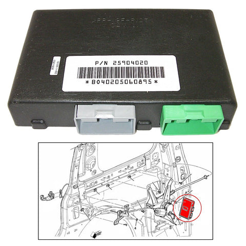 Genuine GM Parts 25904020 Power Sliding Door Control Module - Right or Left