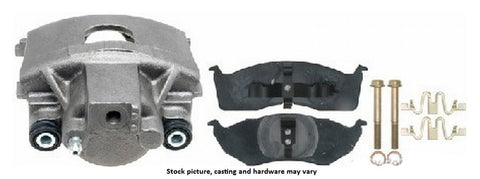 Interstate Brake Products C9031L Rebuilt Loaded Disc Brake Caliper Front Left